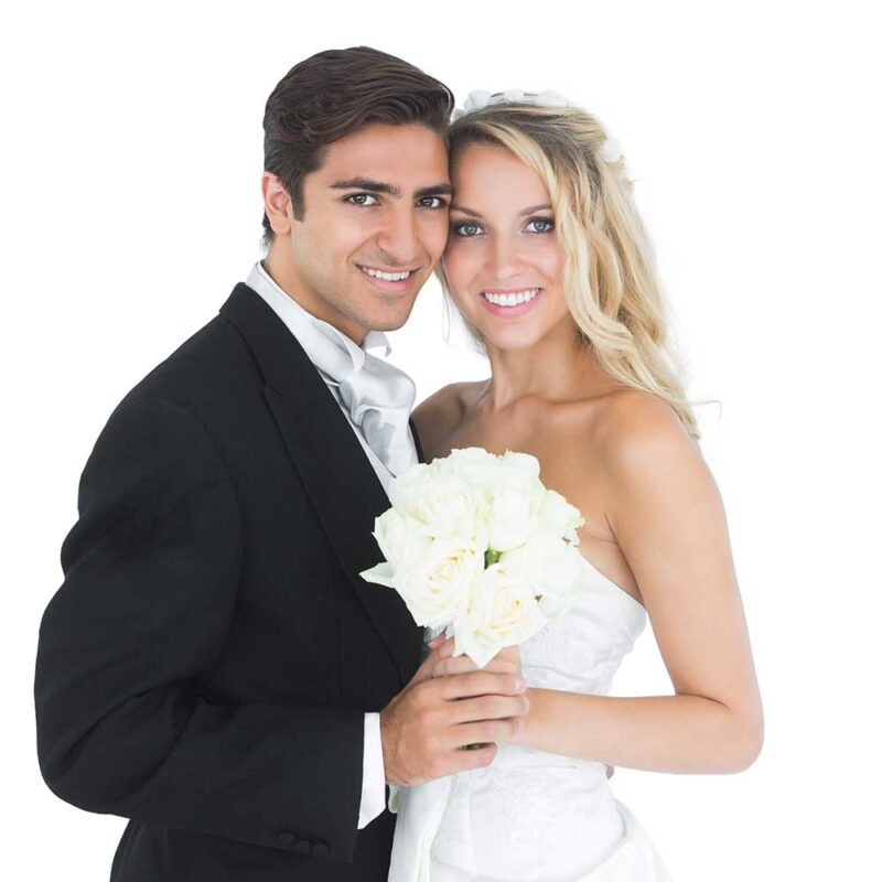 St Petersburg Wedding Limousine Services - Bride and Groom